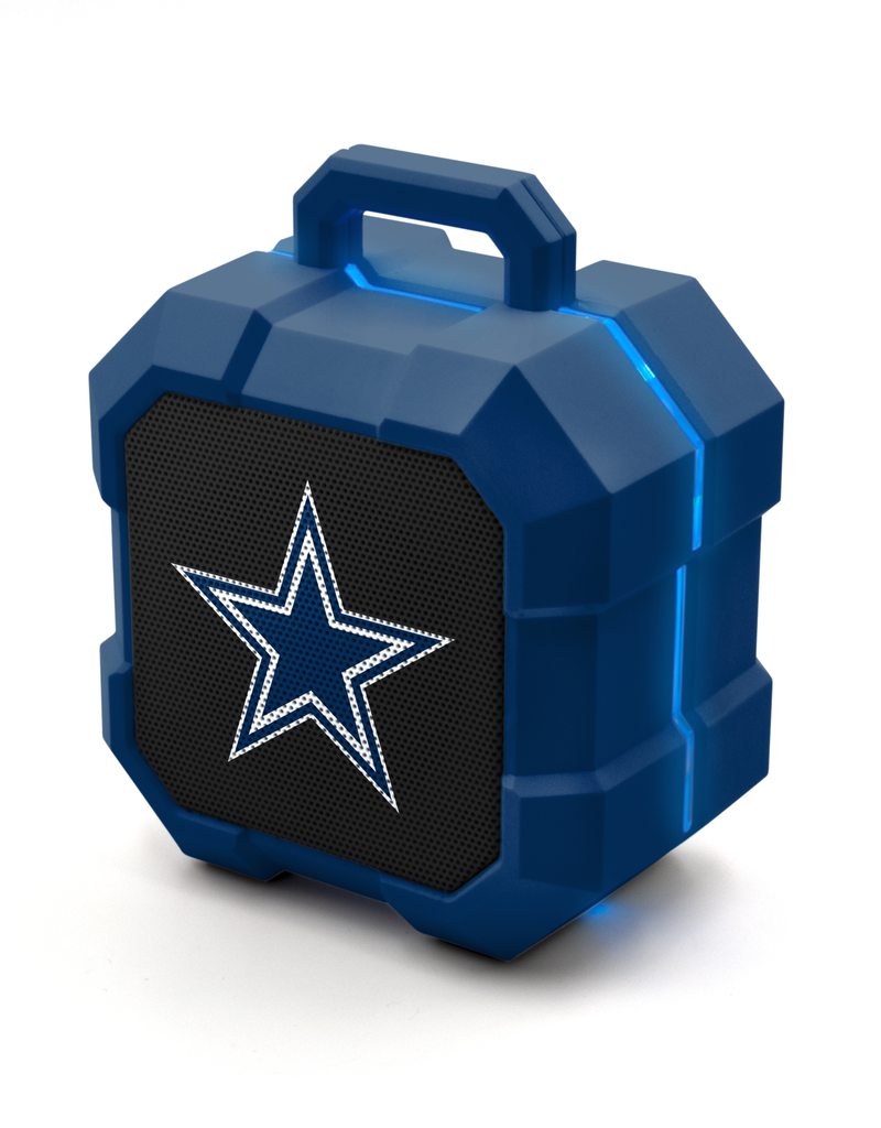 PRIME BRANDS GROUP Dallas Cowboys ShockBox LED Wireless Speaker