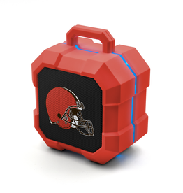 PRIME BRANDS GROUP Cleveland Browns ShockBox LED Wireless Speaker