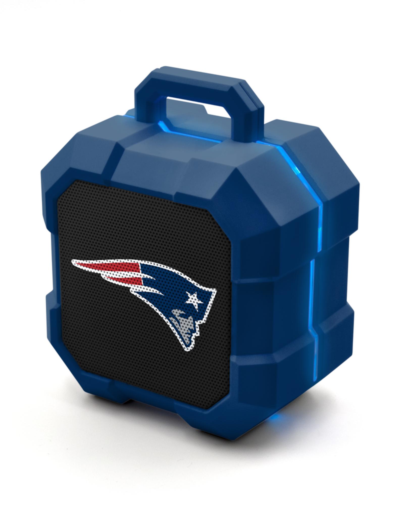 PRIME BRANDS GROUP New England Patriots ShockBox LED Wireless Speaker