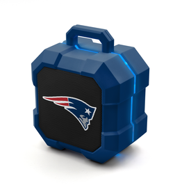 PRIME BRANDS GROUP New England Patriots ShockBox LED Wireless Speaker