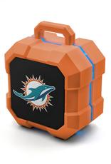 PRIME BRANDS GROUP Miami Dolphins ShockBox LED Wireless Speaker