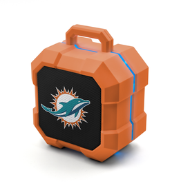 PRIME BRANDS GROUP Miami Dolphins ShockBox LED Wireless Speaker