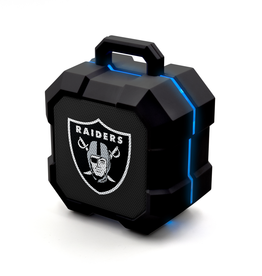 PRIME BRANDS GROUP Oakland Raiders ShockBox LED Wireless Speaker