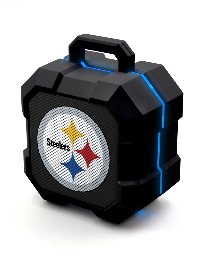 PRIME BRANDS GROUP Pittsburgh Steelers ShockBox LED Wireless Speaker