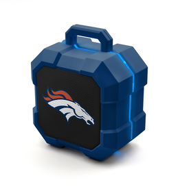 PRIME BRANDS GROUP Denver Broncos ShockBox LED Wireless Speaker