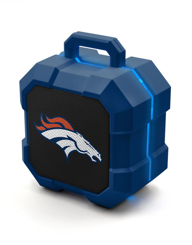PRIME BRANDS GROUP Denver Broncos ShockBox LED Wireless Speaker