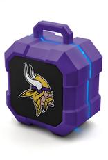 PRIME BRANDS GROUP Minnesota Vikings ShockBox LED Wireless Speaker