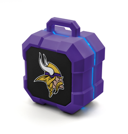 PRIME BRANDS GROUP Minnesota Vikings ShockBox LED Wireless Speaker