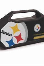 PRIME BRANDS GROUP Pittsburgh Steelers ShockBox XL LED Wireless Speaker