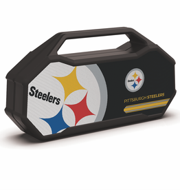 PRIME BRANDS GROUP Pittsburgh Steelers ShockBox XL LED Wireless Speaker