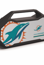 PRIME BRANDS GROUP Miami Dolphins ShockBox XL LED Wireless Speaker