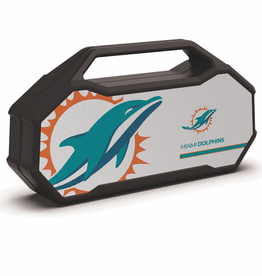 PRIME BRANDS GROUP Miami Dolphins ShockBox XL LED Wireless Speaker