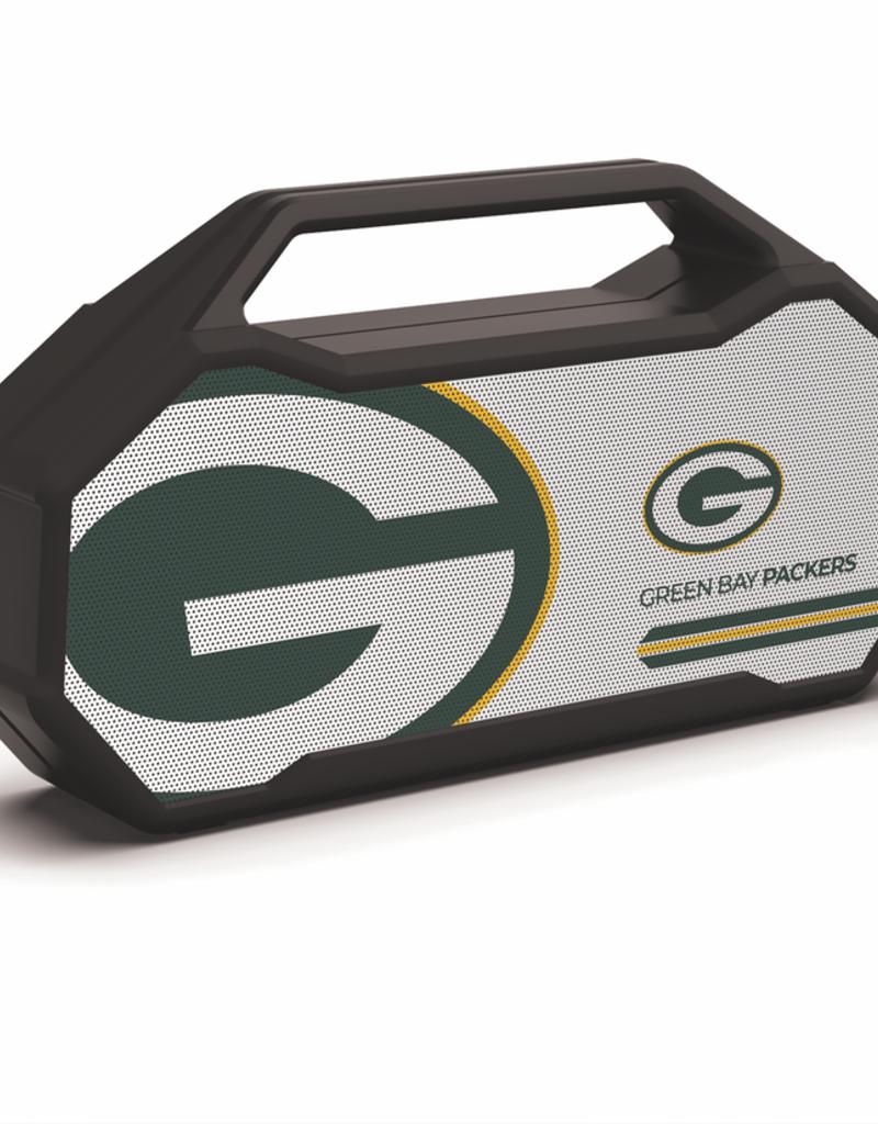 PRIME BRANDS GROUP Green Bay Packers ShockBox XL LED Wireless Speaker