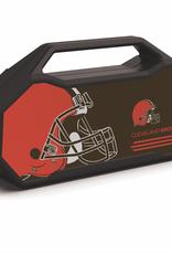 PRIME BRANDS GROUP Cleveland Browns ShockBox XL LED Wireless Speaker