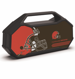PRIME BRANDS GROUP Cleveland Browns ShockBox XL LED Wireless Speaker