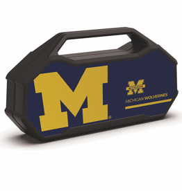 PRIME BRANDS GROUP University of Michigan Wolverines ShockBox XL LED Wireless Speaker