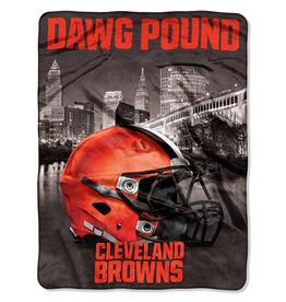NORTHWEST Cleveland Browns 60in x 80in Silk Touch Throw Wrap