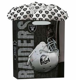 JF TURNER & CO Las Vegas Raiders Large GoGo Gift Bag