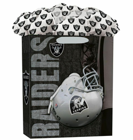 JF TURNER & CO Oakland Raiders Large GoGo Gift Bag