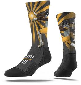 STRIDELINE Pittsburgh Steelers Juju Smith-Schuster Strideline Player Socks