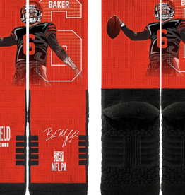 STRIDELINE Cleveland Browns Baker Mayfield Strideline Player Socks