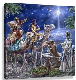 GLOW DÉCOR The Magic of Christmas Angel Pizazz Print with Swarovski Crystals