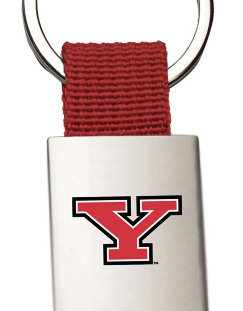 Youngstown State Penguins Red Key Tag
