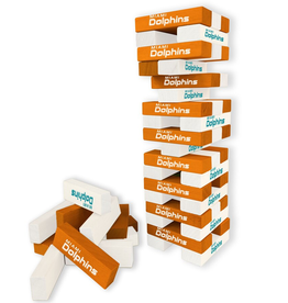 WILD SPORTS Miami Dolphins Table Top Stackers