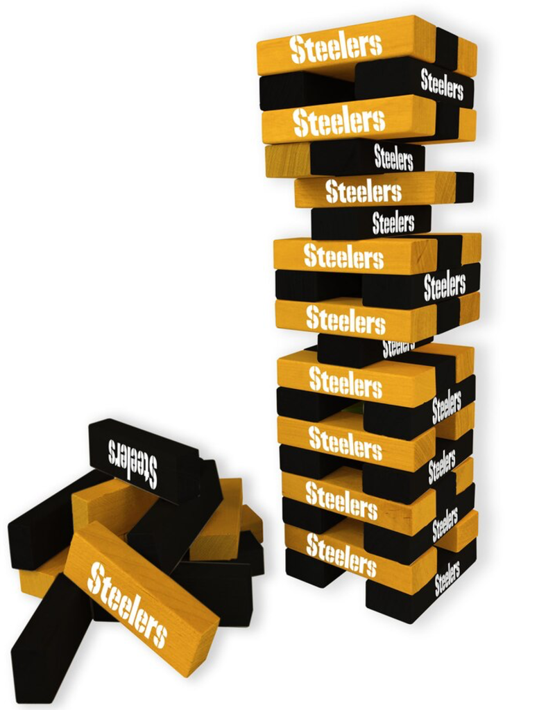 WILD SPORTS Pittsburgh Steelers Table Top Stackers