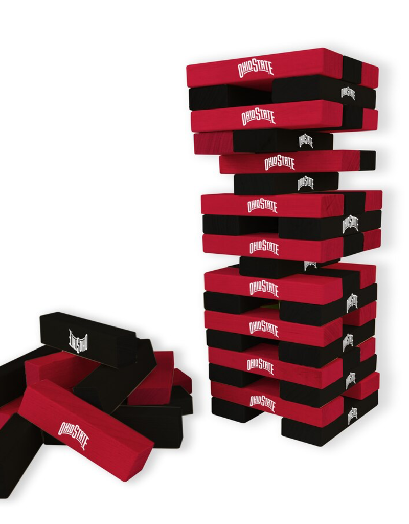 WILD SPORTS Ohio State Buckeyes Table Top Stackers