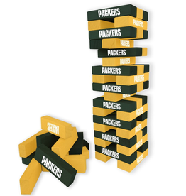 WILD SPORTS Green Bay Packers Table Top Stackers