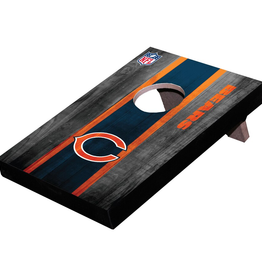 WILD SPORTS Chicago Bears Mini Tabletop Cornhole Board