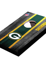 WILD SPORTS Green Bay Packers Mini Tabletop Cornhole Board