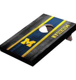 WILD SPORTS University of Michigan Wolverines Mini Tabletop Cornhole Board