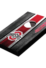 WILD SPORTS Ohio State Buckeyes Mini Tabletop Cornhole Board