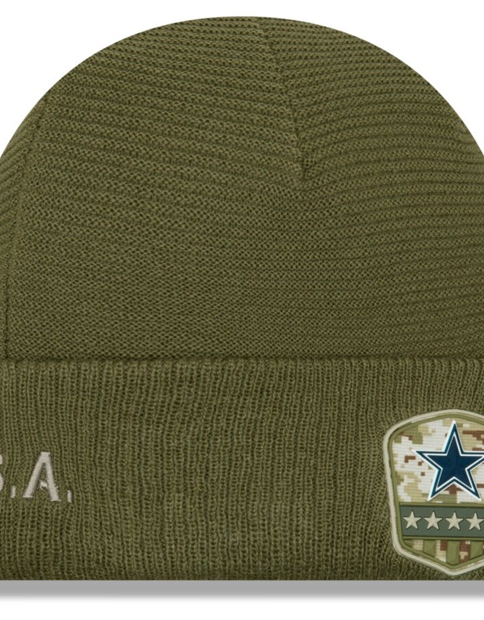 NEW ERA Dallas Cowboys New Era NFL 2019 Salute to Service Cuffed Knit Hat