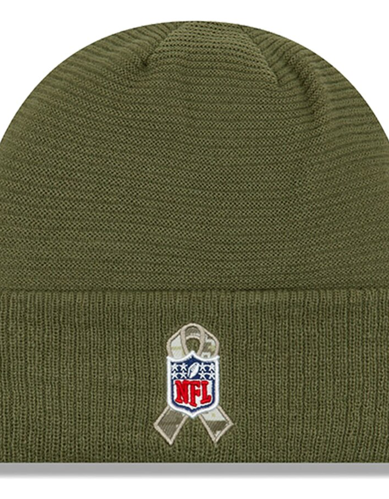 NEW ERA Cleveland Browns New Era NFL 2019 Salute to Service Cuffed Knit Hat