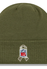 NEW ERA Green Bay Packers New Era NFL 2019 Salute to Service Cuffed Knit Hat