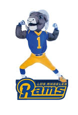 EVERGREEN Los Angeles Rams Mascot Statue