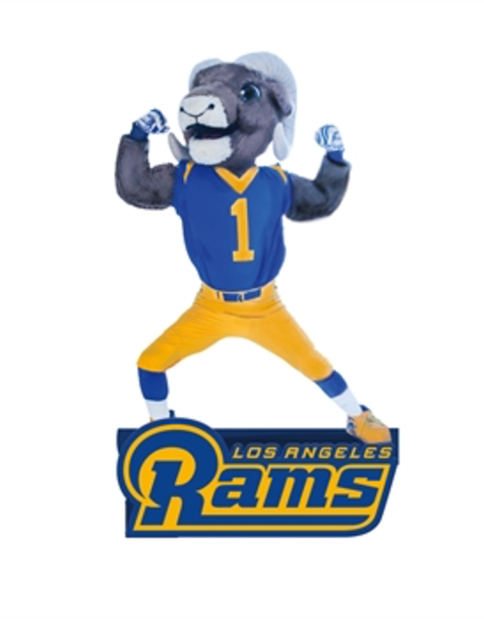 EVERGREEN Los Angeles Rams Mascot Statue