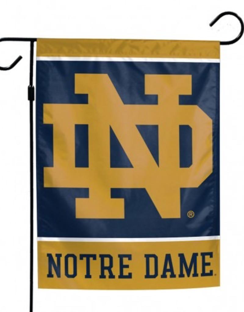 """WINCRAFT Notre Dame Fighting Irish 12"""" x 18"""" Garden Flag"""