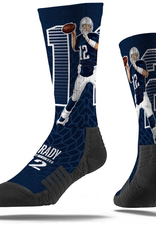 STRIDELINE New England Patriots Tom Brady Strideline Player Socks