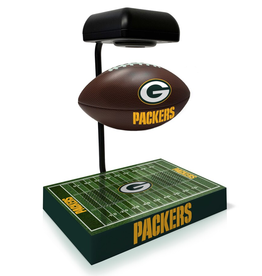 PEGASUS SPORTS Green Bay Packers Hover Football with Bluetooth Speaker