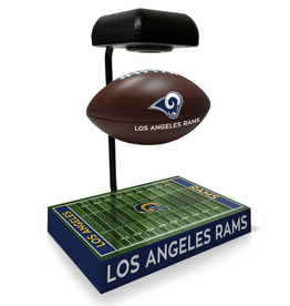 PEGASUS SPORTS Los Angeles Rams Hover Football with Bluetooth Speaker