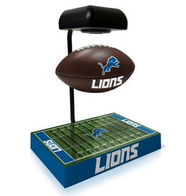 PEGASUS SPORTS Detriot Lions Hover Football with Bluetooth Speaker