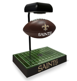 PEGASUS SPORTS New Orleans Saints Hover Football with Bluetooth Speaker
