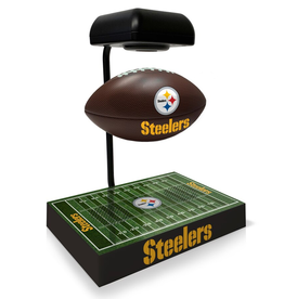 PEGASUS SPORTS Pittsburgh Steelers Hover Football with Bluetooth Speaker