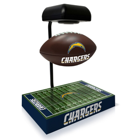 PEGASUS SPORTS Los Angeles Chargers Hover Football with Bluetooth Speaker