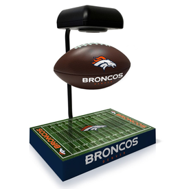 PEGASUS SPORTS Denver Broncos Hover Football with Bluetooth Speaker