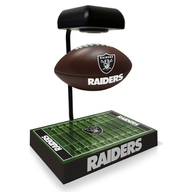 PEGASUS SPORTS Oakland Raiders Hover Football with Bluetooth Speaker